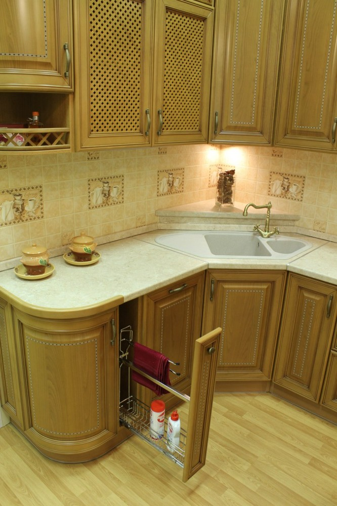 Дорогие и элитные кухни-Кухня из массива «Модель 127»-фото8