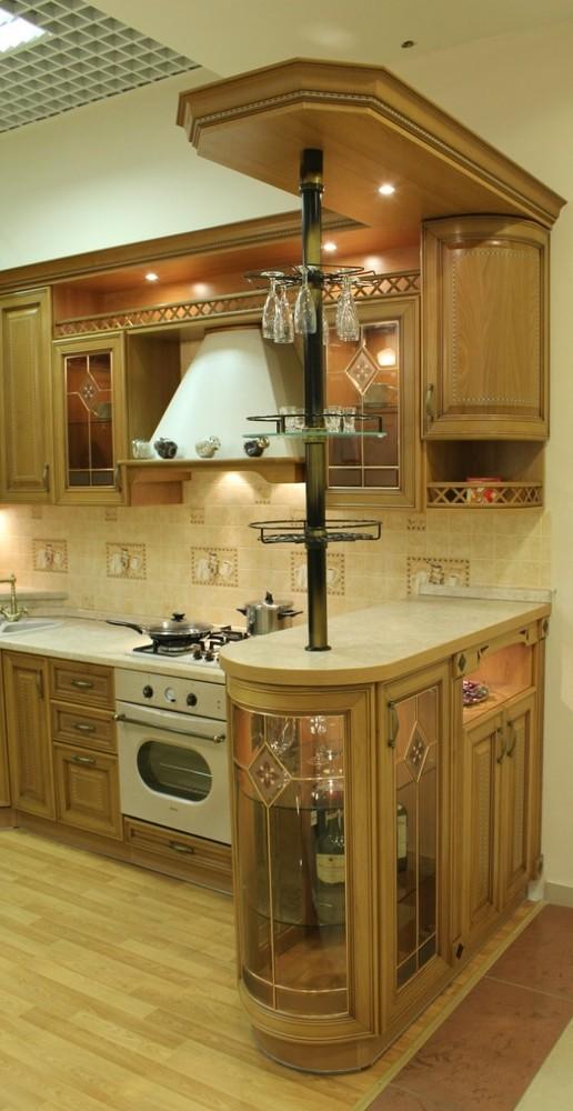 Дорогие и элитные кухни-Кухня из массива «Модель 127»-фото14