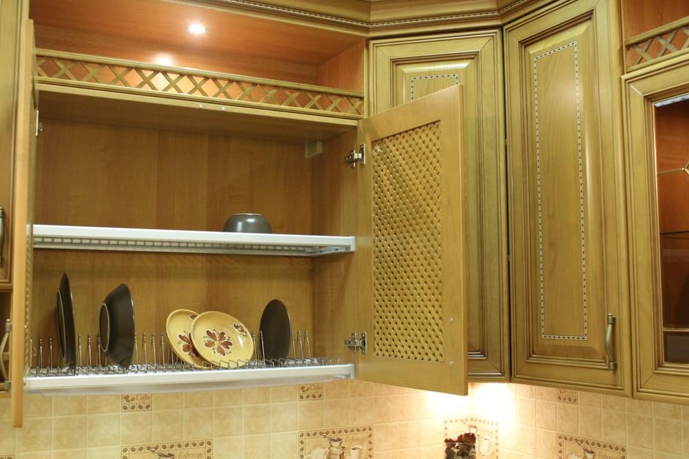 Дорогие и элитные кухни-Кухня из массива «Модель 127»-фото16