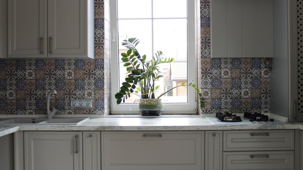 Бежевые кухни-Кухня МДФ в эмали «Модель 283»-фото5