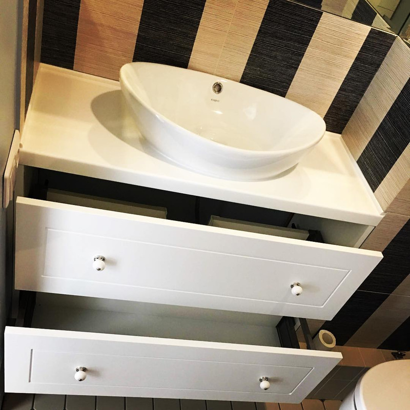 Мебель для ванной комнаты-Мебель для ванной «Модель 6»-фото1