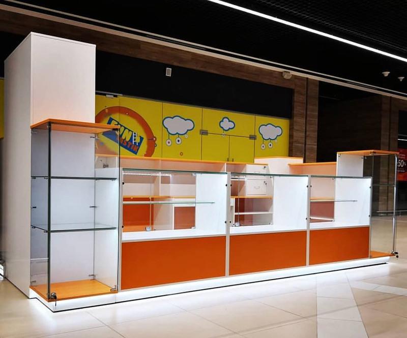 Торговая мебель-Торговый островок «Модель 258»-фото1