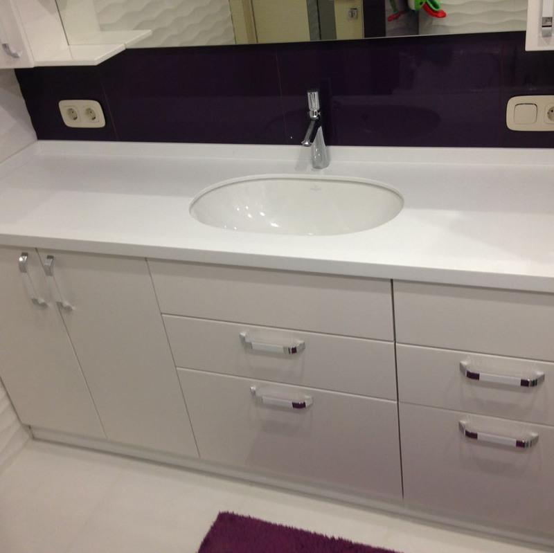 Мебель для ванной комнаты-Мебель для ванной «Модель 58»-фото1