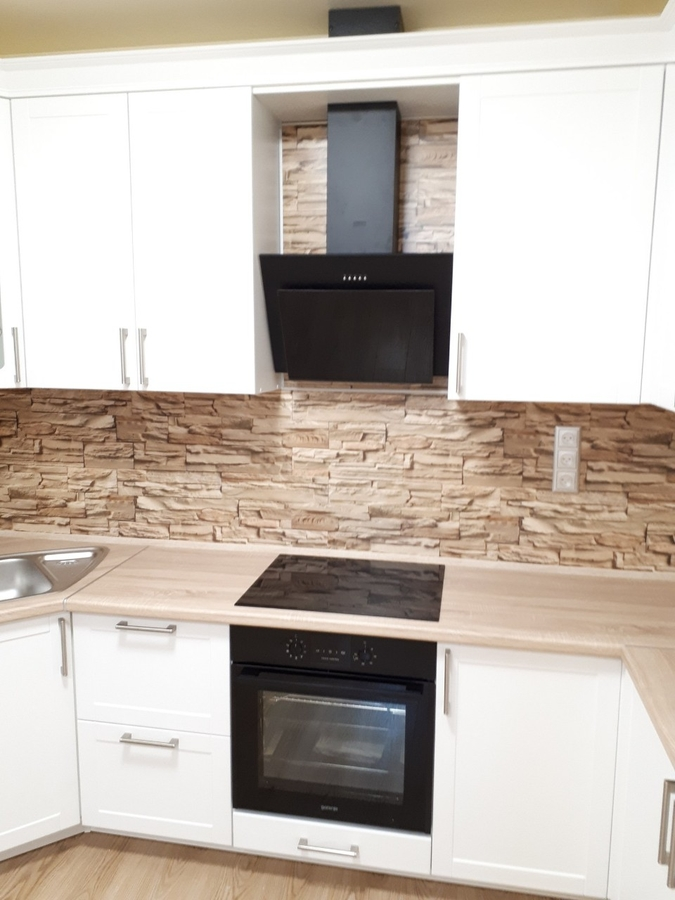 Белый кухонный гарнитур-Кухня «Модель 494»-фото4
