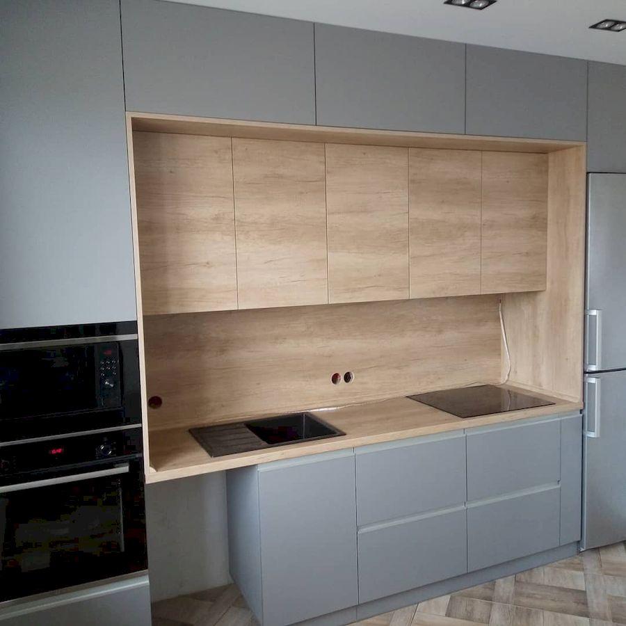 Встроенная кухня-Кухня из ЛДСП «Модель 652»-фото2