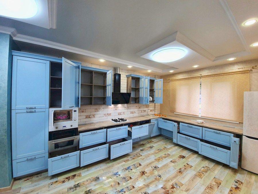 Дорогие и элитные кухни-Кухня МДФ в эмали «Модель 524»-фото7