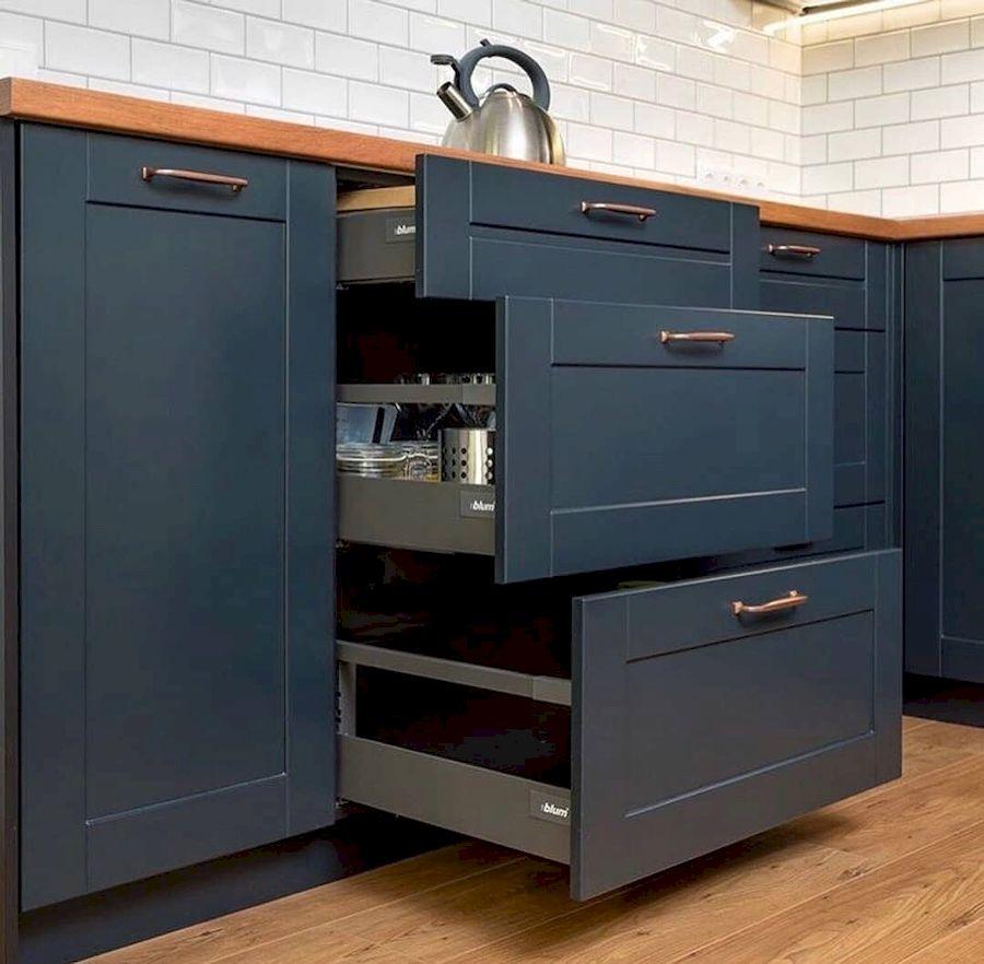 Классические кухни-Кухня МДФ в эмали «Модель 667»-фото4