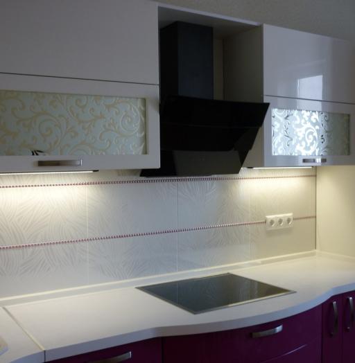 -Кухня МДФ в эмали «Модель 237»-фото27