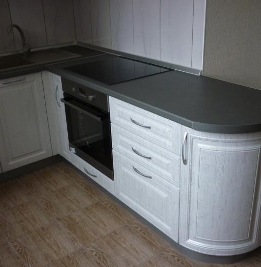 -Кухня МДФ в ПВХ «Модель 249»-фото28