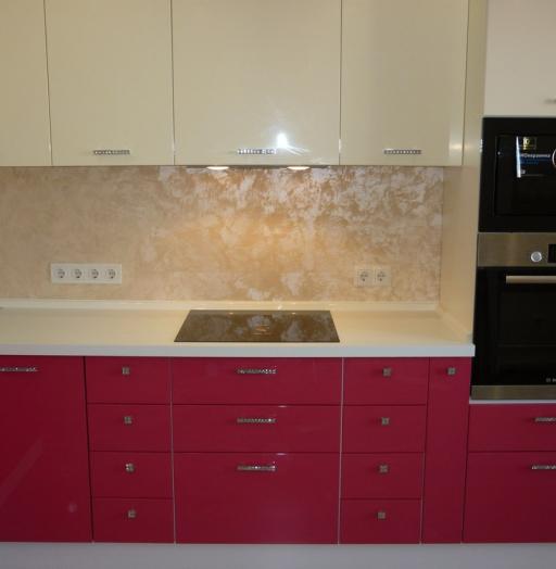 -Кухня МДФ в эмали «Модель 252»-фото29