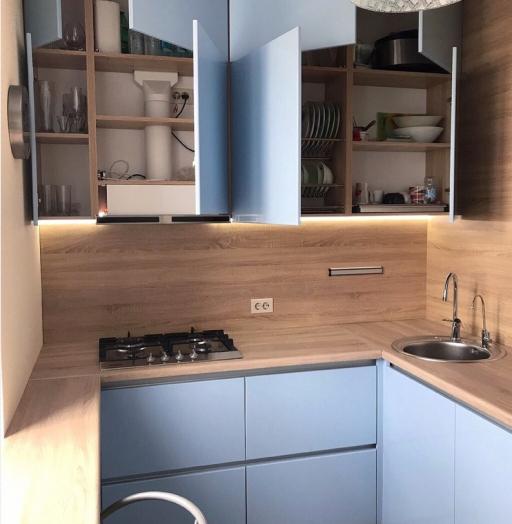 -Кухня МДФ в ПВХ «Модель 37»-фото12