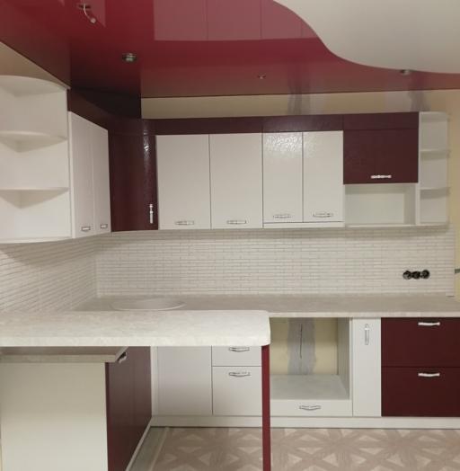 -Кухня МДФ в эмали «Модель 18»-фото28