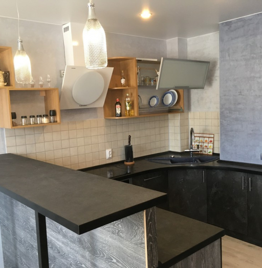 Встроенная кухня-Кухня МДФ в ПВХ «Модель 316»-фото10