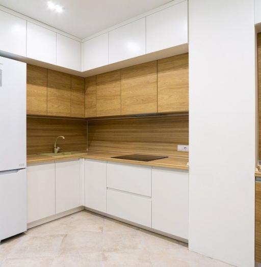 -Кухня МДФ в эмали «Модель 556»-фото29