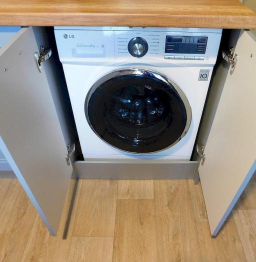 Классические кухни-Кухня МДФ в эмали «Модель 590»-фото9